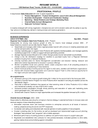 Product Development Resume Sample by Executive Resume Template Doc Free Resume Example And Writing