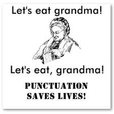 Funny English Memes - punctuation saves lives meme memes pinterest punctuation
