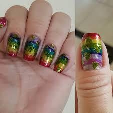 25 rainbow nail arts designs ideas design trends premium