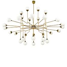 Stilnovo Chandelier Italian 32 Globe Chandelier Globe Pendant Lighting And Chandeliers