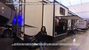 forest river wildwood heritage glen 5th wheel 356qb youtube