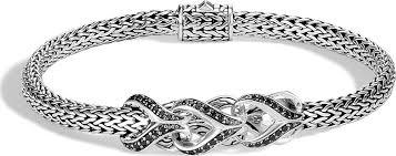 classic link bracelet images John hardy classic chain black spinel sapphire link bracelet mkt jpg