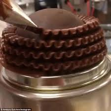 instagram video of a cake being iced is oddly satisfying daily