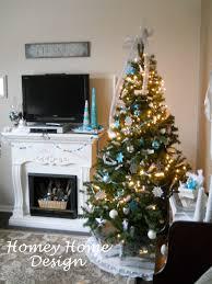 homey home design oh christmas tree