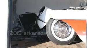 damaged corvettes for sale corvette damaged in fatal 5th wheel trailer