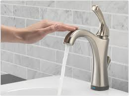 Delta Bar Sink Faucet Delta 592t Dst Addison Single Handle Bathroom Faucet With Touch2o