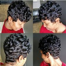 how to make african american short hair curly 30 best short wavy hairstyles images on pinterest curls short