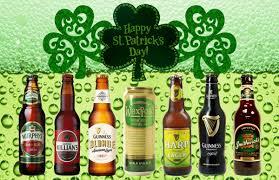 irish beer tasting irish beer flight u2013 u201cgreen party u201d on st