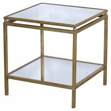 Small Side Table Patio Dining Sets Gold Metal Coffee Table Small Square Side