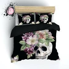 Duvet Comforter Set Skull Comforter Set Queen U2013 Rentacarin Us
