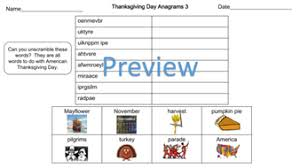 thanksgiving day puzzle pack differentiated word searches and