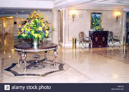 Hotel Interior Decorators The Camino Real Resort Hotel Interior Lobby Decor With Table And