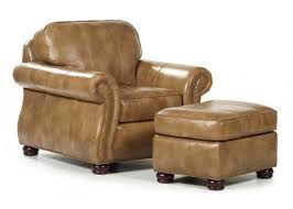 Leather Armchair With Ottoman Barrington Leather Chair Ottoman Large Jpg V U003d1371829441