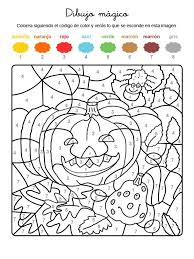 imagenes de halloween para imprimir y colorear mágico de calabaza y araña dibujo para colorear e imprimir