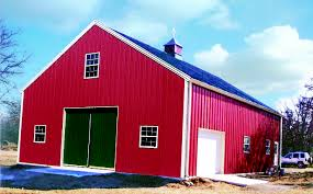 Metal Siding For Barns What To Look For When Purchasing A Metal Building Building Frames