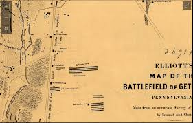 Gettysburg Pennsylvania Map by The Elliot Map Do You Know American Civil War Forums