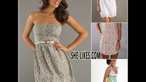 short summer dress youtube