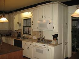 Antique White Kitchen Cabinets Image Of Best Antique White Paint Refinishing Oak Cabinets Antique White Color The Beautiful