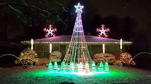 christmas light display to music near me 2016 best christmas light display to music hallelujah lindsey