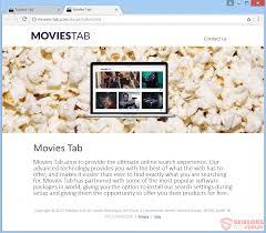 remove movies tab com redirect