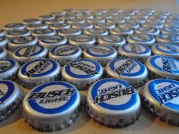 busch light aluminum bottles busch light beer bottle caps