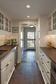 Galley Kitchen Ideas Exellent White Galley Kitchens With Orchid Y Intended Inspiration