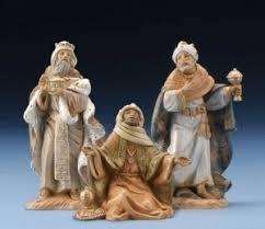 saint francis with baby jesus christmas card