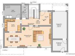 Wohnzimmer Quadratisch Grundriss Kern Haus Bauhaus Cube Grundriss Erdgeschoss Architecture