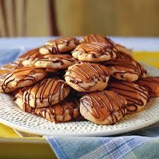 peanut butter toffee turtle cookies recipe myrecipes