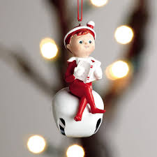on the shelf jingle bell ornament colorful images