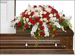 funeral casket graceful white casket spray funeral flowers in morehead city