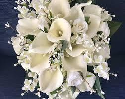calla bouquets calla bouquet etsy