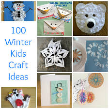 100 winter kids crafts to beat the winter blues december