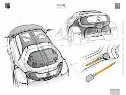 citroen cxperience official sketches by gregory blanchet