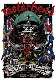 motorhead rose tattoo airbourne passion 4 rock posters graphix