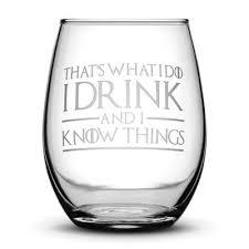 game of thrones wine glasses premium game of thrones wine glasses set of 2 thats what i do i