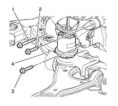 repair instructions on vehicle transmission mount bracket