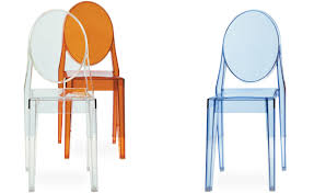 victoria ghost side chair 2 pack hivemodern com