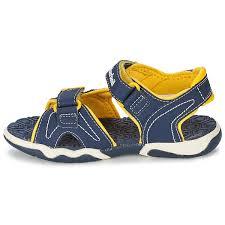 adventure kids sandals blue yellow 6316 4492