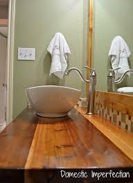 cedar plank countertop domestic imperfection