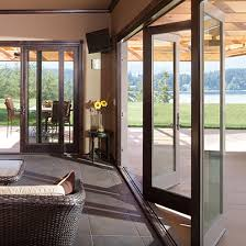 Collapsible Patio Doors Seattle Stacking Glass Wall Systems Bifold Doors Bellevue