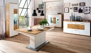 Bilder F Esszimmer Mca Furniture Nizza Esszimmer Weiß Eiche Speisezimmer