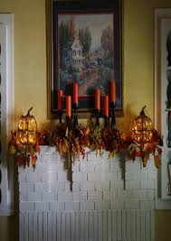 thanksgiving mantel decorating ideas styles candle wall decor cheap candle sticks taper candle holders