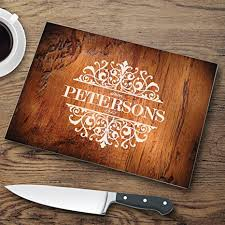 cutting board personalized personalized glass cutting board custom cutting