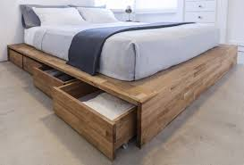 Platform Bed Drawers Get Some Mileage Out Of Your Sleeping Space With These 12