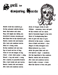 spell for conjuring hecate http witchesofthecraft com my book