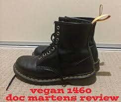 vegan doc dr martens 1460 review youtube