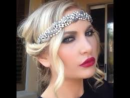 how to do great gatsby hairstyles for women great gatsby flapper hair tutorial youtube