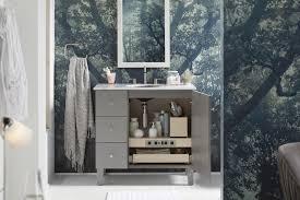 Kohler Poplin Vanity Nordic Lights Bathroom Kohler Ideas