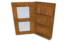 bathroom armoire plans howtospecialist how to build step by
